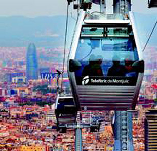 Excursions / Visites TELEPHERIQUE DE MONTJUIC BARCELONE