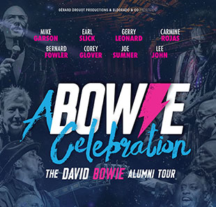 Pop-rock/Folk A BOWIE CELEBRATION THE DAVID BOWIE ALUMNI TOUR VILLEURBANNE