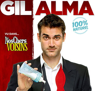 One man/woman show GIL ALMA 100% NATUREL LORIENT