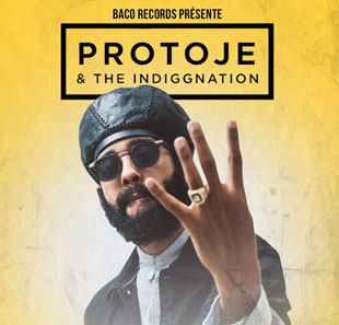 Reggae PROTOJE & THE INDIGGNATION LAUSANNE