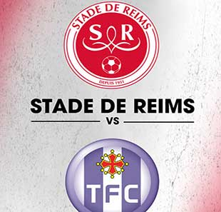 Football STADE DE REIMS / TOULOUSE FC LIGUE 1 CONFORAMA - 16EME JOURNEE REIMS