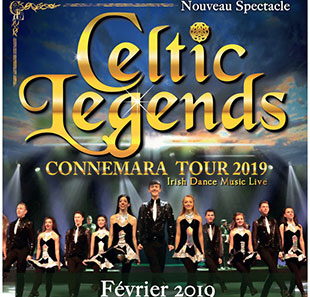 Danse traditionnelle CELTIC LEGENDS Connemara Tour 2019 GENEVE