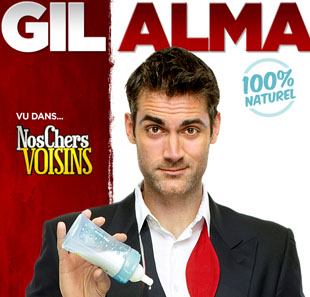One man/woman show GIL ALMA+1E PARTIE: BENOIT JOUBERT 100% NATUREL HYERES