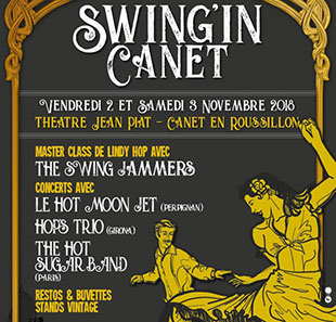 SWING'IN CANET - HOT SUGAR BAND