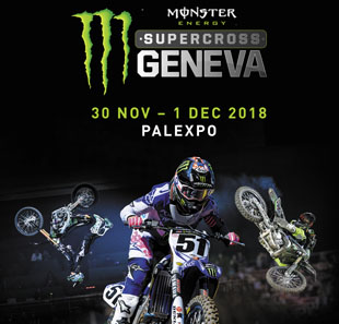 Sport mécanique 33ÈME MONSTER ENERGY SUPERCROSS GENEVA GENEVE