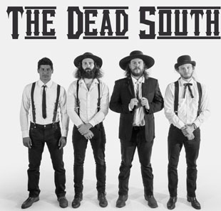 Pop-rock/Folk THE DEAD SOUTH (CA) Support: MATTHEW LOGAN VASQUEZ Trio LAUSANNE