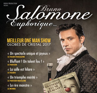 One man/woman show BRUNO SALOMONE EUPHORIQUE ECULLY