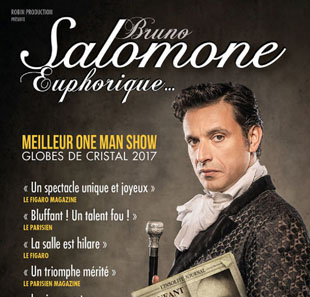 One man/woman show BRUNO SALOMONE EUPHORIQUE LILLE