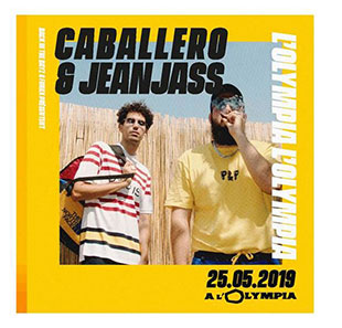 Rap/Hip-hop/Slam CABALLERO & JEANJASS DOUBLE HELICE TOUR PARIS