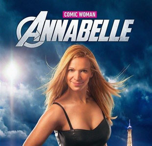 One man/woman show ANNABELLE SHOW COMIC WOMAN ST RAPHAEL