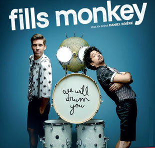 Pop-rock/Folk FILLS MONKEY WE WILL DRUM YOU LYON