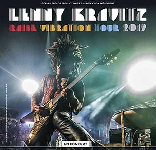 Pop-rock/Folk LENNY KRAVITZ RAISE VIBRATION TOUR ST HERBLAIN