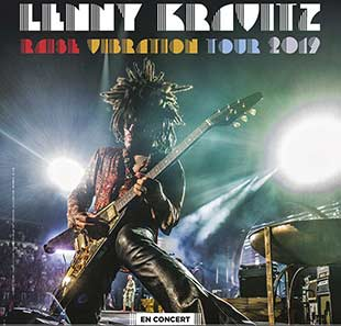 Pop-rock/Folk LENNY KRAVITZ RAISE VIBRATION TOUR NICE