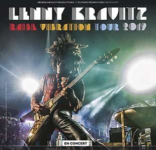 Pop-rock/Folk LENNY KRAVITZ RAISE VIBRATION TOUR TOULOUSE