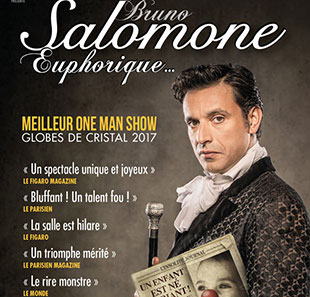 One man/woman show BRUNO SALOMONE EUPHORIQUE DEAUVILLE