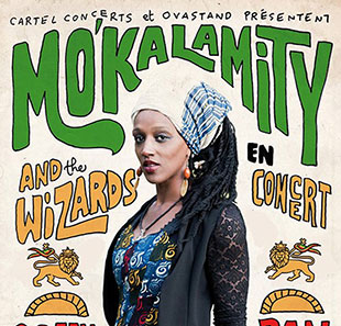 Rock MO'KALAMITY & THE WIZARDS PARIS