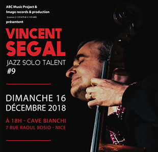Jazz JAZZ SOLO TALENT #9 : VINCENT SEGAL NICE