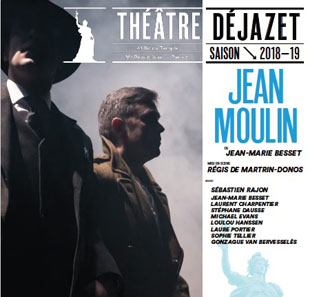 Théâtre contemporain JEAN MOULIN, L'EVANGILE PARIS