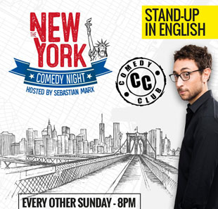 One man/woman show NEW-YORK COMEDY NIGHT PARIS