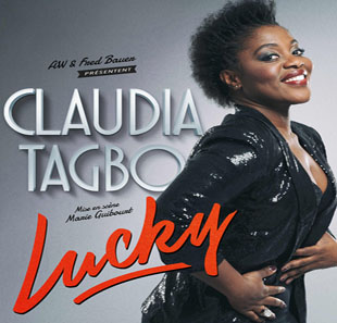 One man/woman show CLAUDIA TAGBO LUCKY MERIGNAC