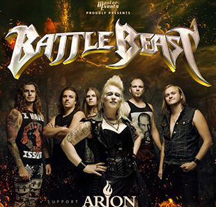 Hard-rock/Métal BATTLE BEAST PARIS