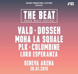 Rap/Hip-hop/Slam THE BEAT URBAN MUSIC FESTIVAL GENEVE
