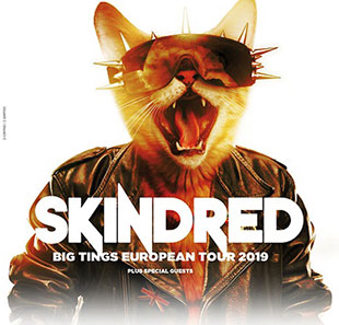 Hard-rock/Métal SKINDRED + GUEST TOULOUSE