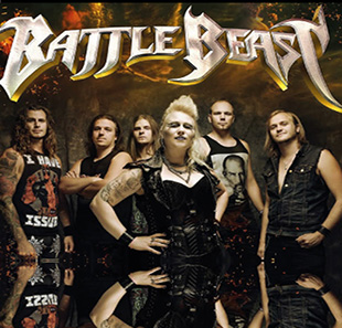 Hard-rock/Métal BATTLE BEAST LYON