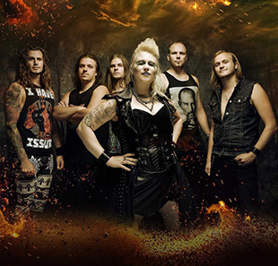 Hard-rock/Métal BATTLE BEAST PRATTELN