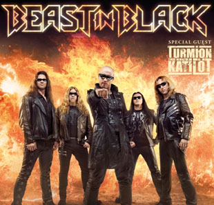 Hard-rock/Métal BEAST IN BLACK FROM HELL WITH LOVE TOUR 2019 PARIS