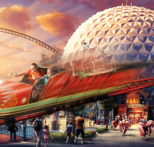 Parc d'attraction EUROPA-PARK & BUS DEPART LAUSANNE Billet 1 jour & Transport LAUSANNE