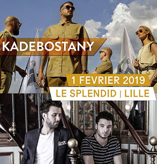 Pop-rock/Folk KADEBOSTANY + DIVA FAUNE LILLE