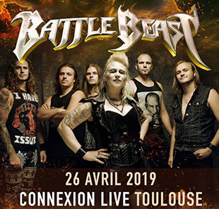 Hard-rock/Métal BATTLE BEAST + ARION TOULOUSE