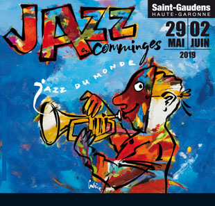 Jazz PASS 3 SOIRS 30,31MAI &1ER JUIN JAZZ EN COMMINGES ST GAUDENS