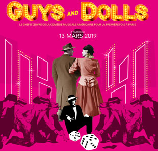 Grand spectacle GUYS AND DOLLS a Musical Fable Of Broadway PARIS
