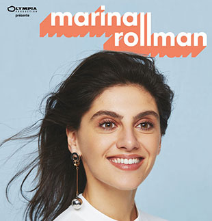 One man/woman show MARINA ROLLMAN - UN SPECTACLE DROLE GENEVE