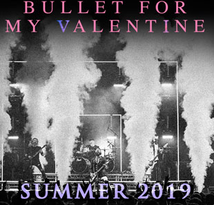 Rock BULLET FOR MY VALENTINE // METAL GENEVE