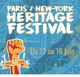 R'n'B/Soul/Funk PARIS NEW YORK HERITAGE FESTIVAL PASS 2 JOURS DU 14 AU 15 JUIN 2019 PARIS