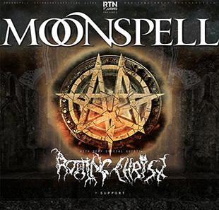 Hard-rock/Métal MOONSPELL & ROTTING CHRIST METAL GENEVE