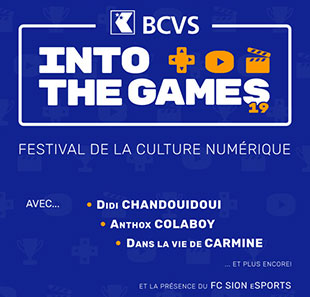 Pass/Abonnement expos INTO THE GAMES - PASS WEEK-END Convention-divertissement numérique CONTHEY