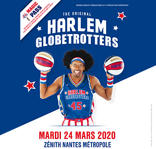 Basketball MAGIC PASS NANTES HARLEM GLOBETROTTERS ST HERBLAIN