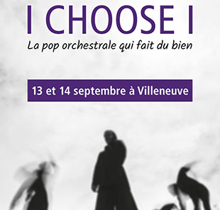 Pop-rock/Folk I CHOOSE I La pop qui fait du bien VILLENEUVE