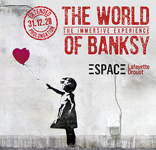 Exposition THE WORLD OF BANKSY PARIS