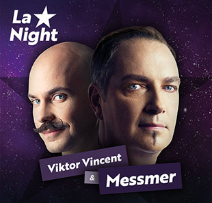 Hypnose LA NIGHT DE LA FASCINATION Avec Messmer et Viktor Vincent NEUCHATEL