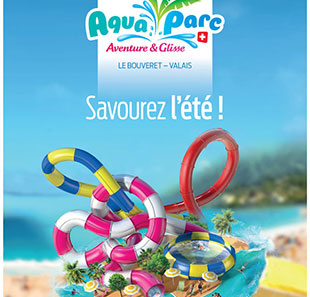 Parc d'attraction AQUAPARC Billet 1 jour LE BOUVERET