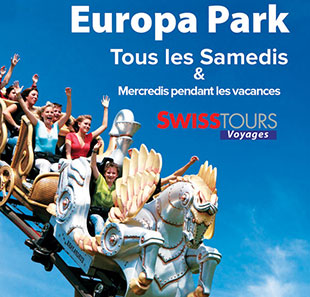 Parc d'attraction BUS + EUROPA PARK DEPART GENEVE Billet 1 jour & Transport GENEVE