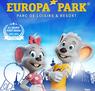 Parc d'attraction EUROPA-PARK ETE 2020 28.03 AU 08.11.2020 RUST - ALLEMAGNE