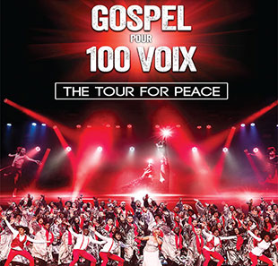 Gospel GOSPEL POUR 100 VOIX The Tour For Peace GENEVE