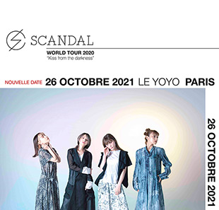 Pop-rock/Folk SCANDAL PARIS