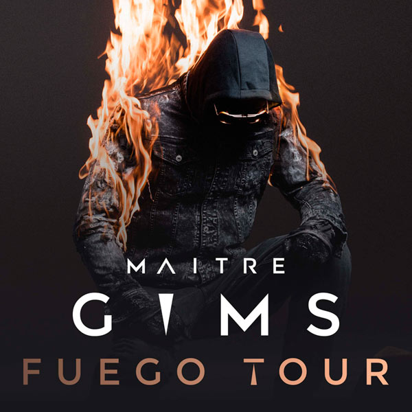 MAITRE GIMS: BUS LILLE + CARRE OR